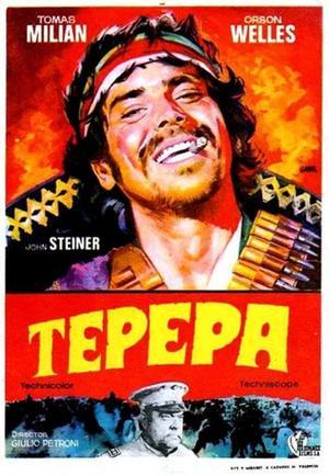 """Poster art for """"Tepepa."""""""