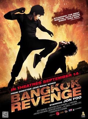 """Poster art for """"Bangkok Revenge."""""""