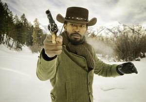 """Jamie Foxx in """"Django Unchained."""""""