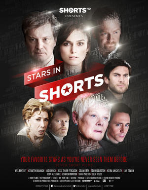 "Poster art for ""Stars in Shorts."""