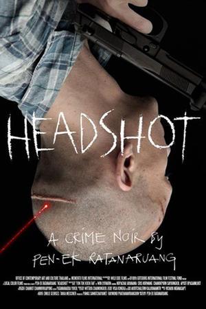 """Poster art for """"Headshot."""""""