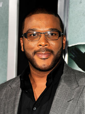 "Tyler Perry at the California premiere of ""Alex Cross."""