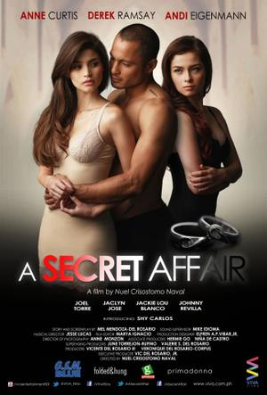 "Poster art for ""A Secret Affair."""