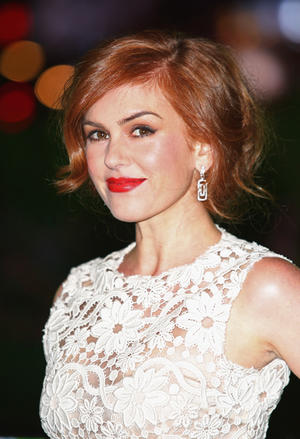 "Isla Fisher at the UK premiere of ""Rise of The Guardians."""