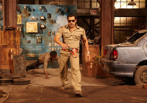 "Salman Khan in ""Dabangg 2."""