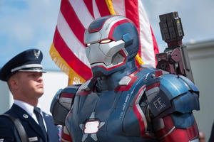 "A scene from ""Iron Man 3."""
