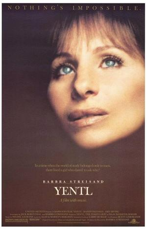 "Poster art for ""Yentl."""