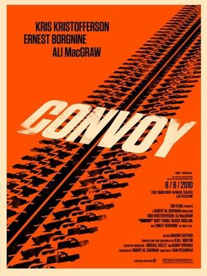 "Poster art for ""Convoy."""