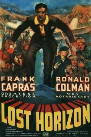 "Poster art for ""Lost Horizon."""