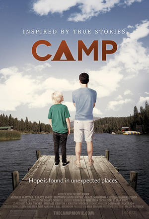 "Poster art for ""Camp."""