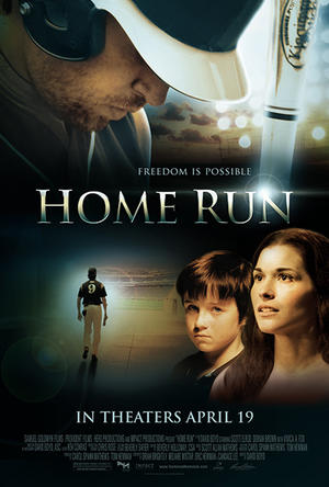 "Poster art for ""Home Run."""