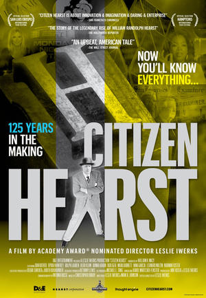"Poster art for ""Citizen Hearst."""