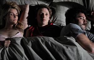 "Emmanuelle Seigner, Ernst Umhauer and Denis Menochet in ""In the House."""