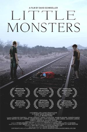 """Poster art for """"Little Monsters."""""""