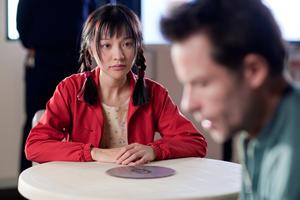 """Zhu Lin as Mei-Mei and Guy Pearce as Dean Randall in """"33 Postcards."""""""