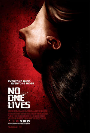 "Poster art for ""No One Lives."""