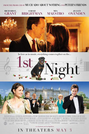 "Poster art for ""1st Night."""