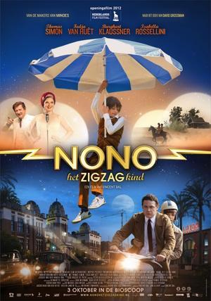 """Poster art for """"Nono, The Zigzag Kid."""""""