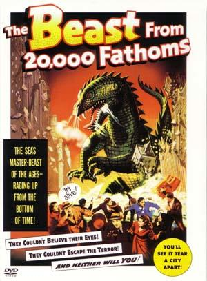 """Poster art for """"The Beast From 20,000 Fathoms."""""""