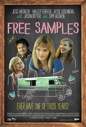 "Poster art for ""Free Samples."""