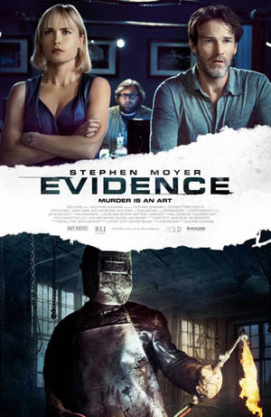 """Poster art for """"Evidence."""""""