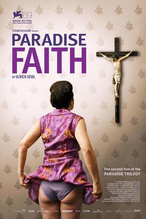 """Poster art for """"Paradise: Faith."""""""