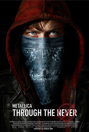 "Poster art for ""Metallica Through the Never."""