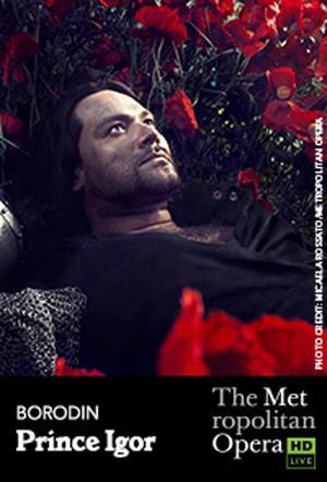 """Poster art for """"The Metropolitan Opera: Prince Igor."""""""