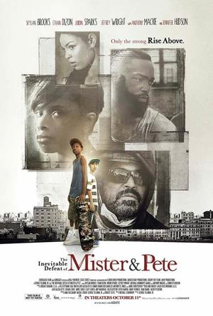 """Poster art for """"The Inevitable Defeat of Mister and Pete."""""""