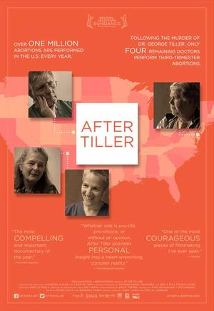 "Poster art for ""After Tiller."""