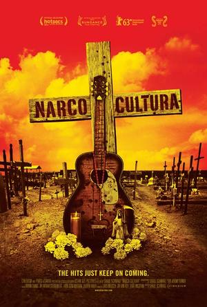 "Poster art for ""Narco Cultura."""