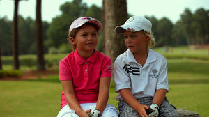 "Alexa Pano and Allan Kournikova in ""The Short Game."""