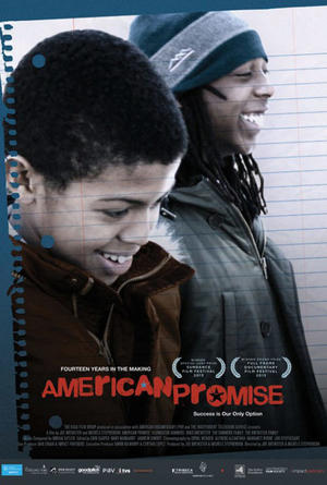 "Poster art for ""American Promise."""