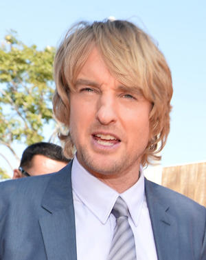 "Owen Wilson at the California premiere of ""Free Birds."""