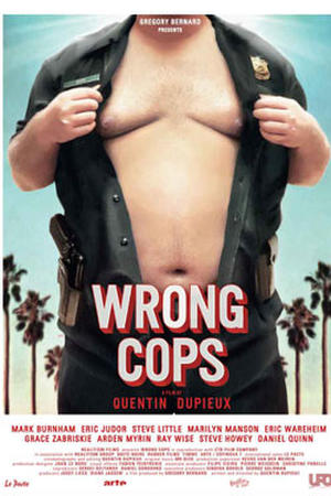 """Poster art for """"Wrong Cops."""""""