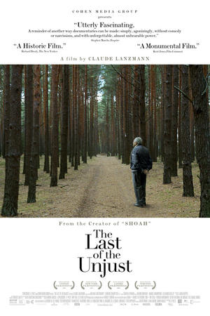"Poster art for ""The Last of the Unjust."""