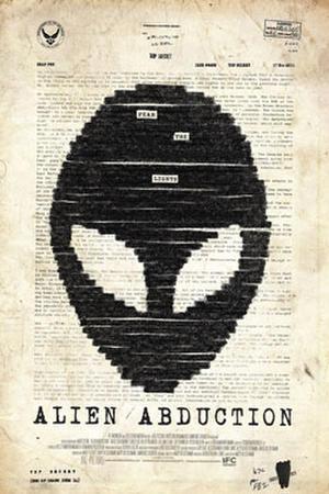 "Poster art for ""Alien Abduction"""