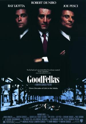 "Poster art for ""Goodfellas."""