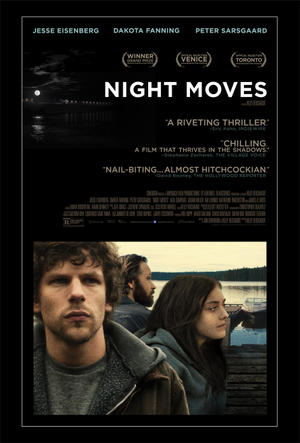 "Poster art for ""Night Moves."""