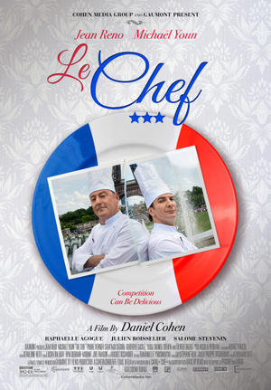 "Poster art for ""Le Chef."""