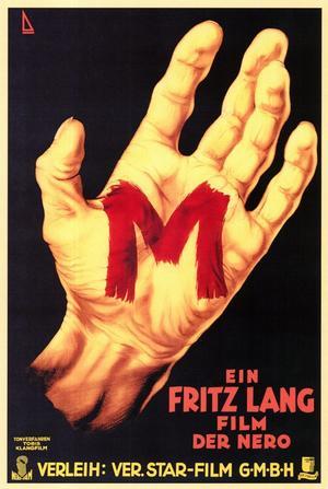 "Poster art for ""M."""