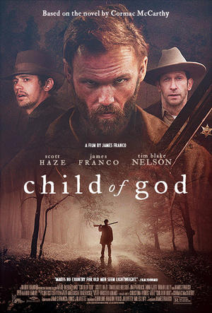 "Poster art for ""Child of God."""