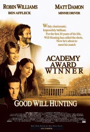 """Poster art for """"Good Will Hunting."""""""