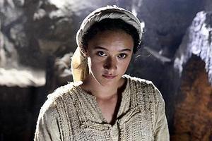 """Keisha Castle-Hughes as Mary in """"The Nativity Story."""""""