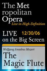 The Metropolitan Opera: The Magic Flute showtimes and tickets