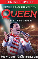 Queen - Hungarian Rhapsody: Live in Budapest '86 showtimes and tickets