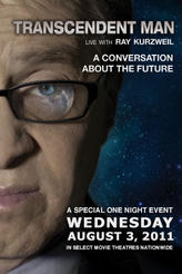 Transcendent Man:  Live with Ray Kurzweil showtimes and tickets