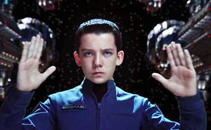 Bam! Pow! Zap! Asa Butterfield of 'Ender's Game' on Sci-fi and Space Camp, and Why Angeline Jolie Just HAD to Be Maleficent