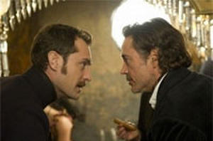 First Look: 'Sherlock Holmes 2' stills and Sacha Baron Cohen Rides a Camel in 'The Dictator'