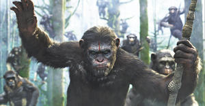 Caesar in Dawn of the Planet of the Apes